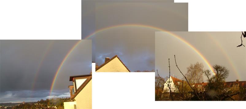 Regenbogen über Winterthur
