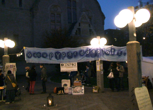 occupy Stauffacher